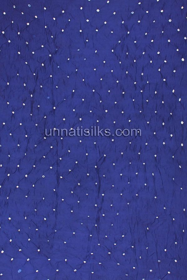 Bottom of FKP111-Unstitched corporate pink and navy blue bandhani sico salwar kameez