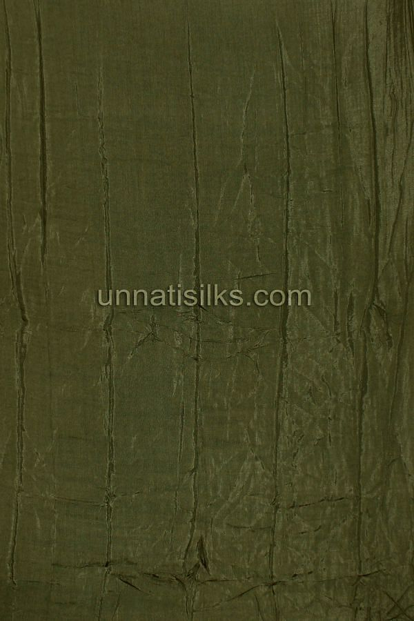 Bottom of FKP079-Unstitched casual green pure handloom cotton salwar kameez
