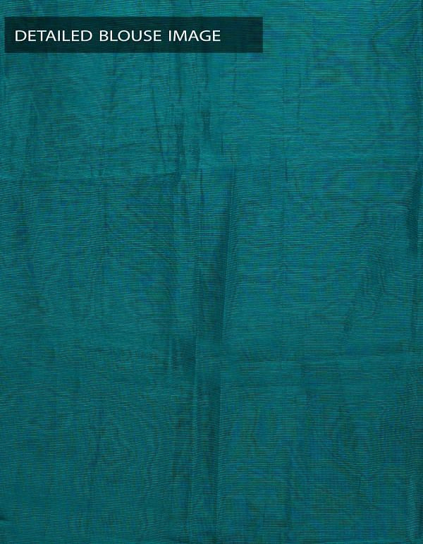 Online Shopping for Blue Pure Mangalagiri Cotton Blouse Fabric with Weaving from Andhra Pradesh at Unnatisilks.com, India