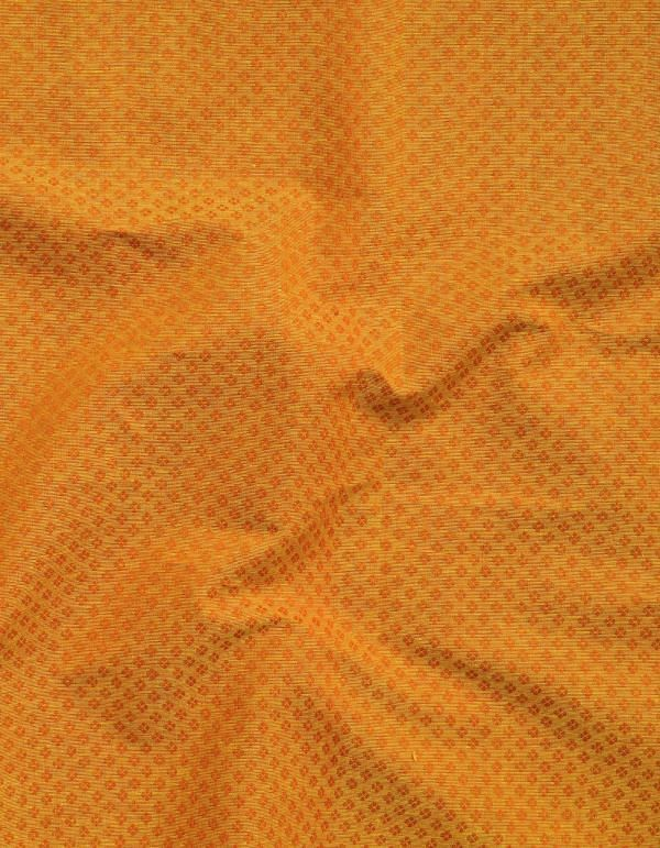 Online Shopping for Yellow Pure Rajasthani Cotton Fabric with Weaving from Rajasthan at Unnatisilks.comIndia