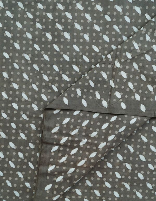 Online Shopping for Grey Pure Rajasthani Cotton Fabric(1MTR) with  from Rajasthan at Unnatisilks.com, India