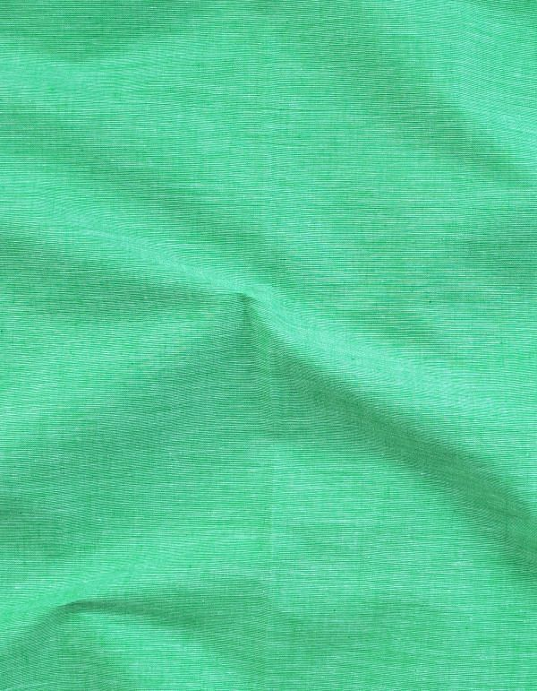 Green Pure Andhra Cotton Fabric (1 MTR)-KTR262