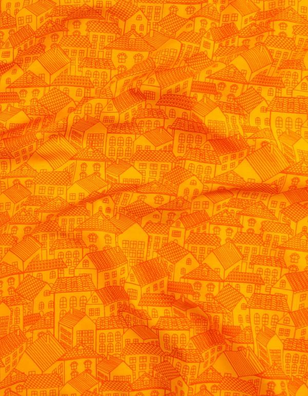Online Shopping for Yellow Pure Cotton Printed Fabric with weaving from Andhra Pradesh at Unnatisilks.com, India
