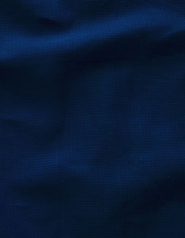 KTR370-Blue Pure Kota Cotton Fabric(1MTR)