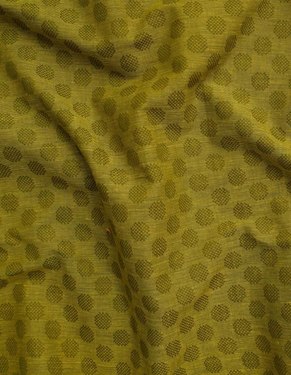 Online Shopping for Green Pure Rajasthani Cotton Fabric with Jacquard Weaving from Rajasthan at Unnatisilks.comIndia