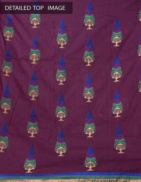 Online Shopping for Unstitched pink-green silk kameez and cotton salwar  with Embroidery from Andhra Pradesh at Unnatisilks.com, India