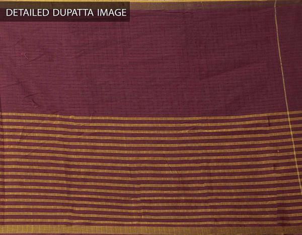 Online Shopping for Unstitched Blue-Maroon Pure Kutch Mangalagiri Cotton Salwar Kameez with Kutch Work from Andhra Pradesh at Unnatisilks.com, India