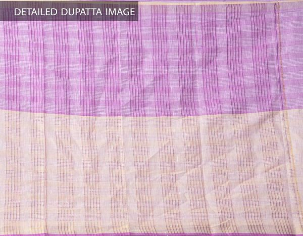 Online Shopping for Unstitched Blue-Purple Pure Kutch Mangalagiri Cotton Fusion Salwar Kameez with Weaving from Andhra Pradesh at Unnatisilks.com, India