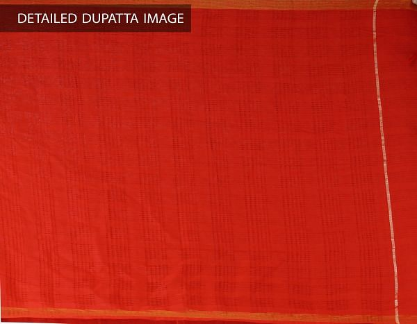 Online Shopping for Unstitched Green-Red Pure Rajasthani Cotton Salwar Kameez with  from  at Unnatisilks.com, India