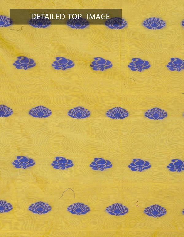 Online Shopping for Unstitched Yellow-Pink Pure Handloom Uppada Sico Salwar Kameez with Weaves from Andhra Pradesh at Unnatisilks.com, India