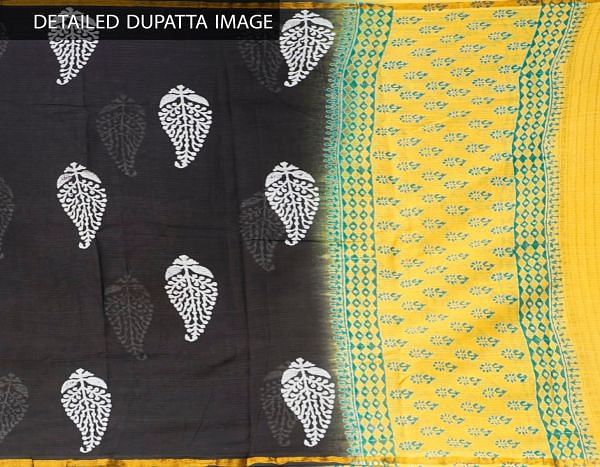 Online Shopping for Unstitched White-Black Pure Kanchi Cotton Salwar Kameez with  Weaving from Tamilnadu at Unnatisilks.comIndia