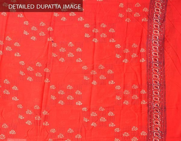 Online Shopping for Unstitched White-Red Pure Chettinad Cotton Salwar Kameez with Weaving from Tamil nadu at Unnatisilks.comIndia