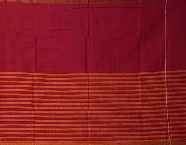 Online Shopping for Unstitched White-Red Pure Handloom Pochampally Cotton Salwar Kameez with Ikat from Andhra Pradesh at Unnatisilks.comIndia