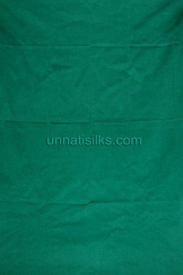 Bottom of SDP045-Unstitched casual blue and green chanderi silk salwar kameez
