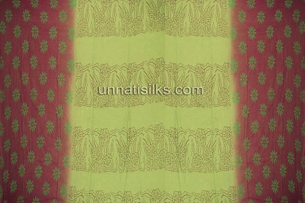 SDP108-Unstitched corporate red-green supernet salwar suit