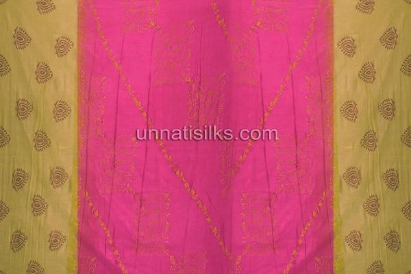 SDP010-Unstitched party pink fancy silk salwar kameez
