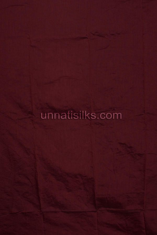 SDP134-Unstitched casual green and maroon chanderi silk salwar kameez