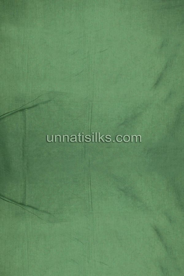 Bottom of SDP183-Unstitched casual green chanderi cotton silk salwar kameez