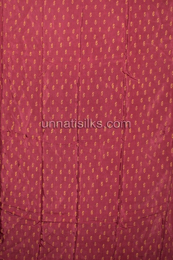 SDP196-Unstitched orange-pink banarasi georgette salwar suit