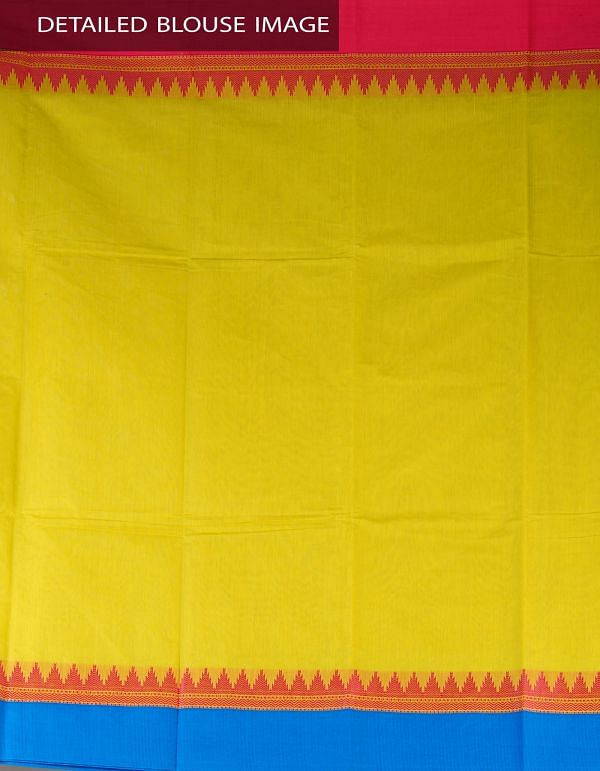 Online Shopping for Green Pure Handloom Chettinad Cotton Plain Saree with Weaving from  Tamilnadu at Unnatisilks.com, India