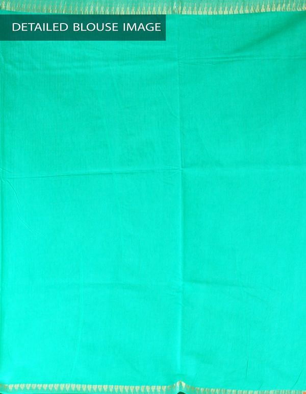 Online Shopping for Green Soft Art Linen Saree with Weaving from Jharkhand at Unnatisilks.com, India