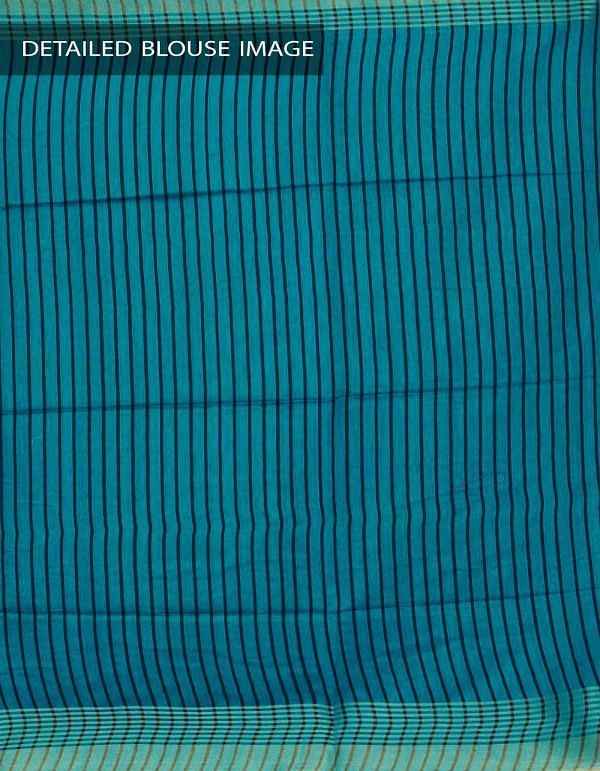 Online Shopping for Green Soft Art Linen Plain Saree with Weaving from Chhattisgarh at Unnatisilks.com, India