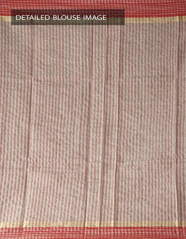 Online Shopping for Brown Art Andhra Jute Saree With Tassel with Weaving from Andhra Pradesh at Unnatisilks.com India
