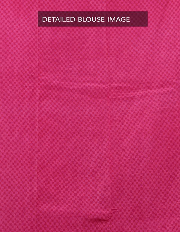 Pink Ikat Printed Pochampally Soft Silk Saree-UNM28317
