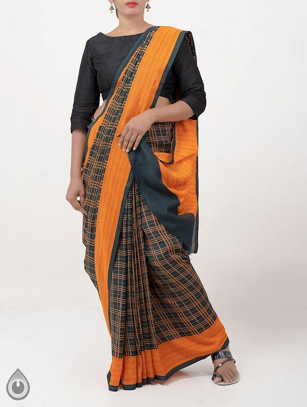 Online Shopping for Green Bengal Soft Silk Saree with Prints from West Bengal at Unnatisilks.comIndia