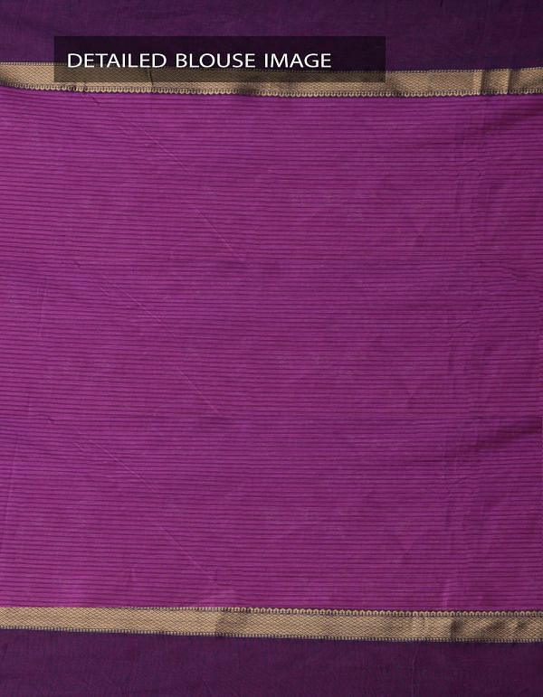 Online Shopping for Pink Pure Handloom Chettinad Gamcha Cotton Saree with Weaving from Tamilnadu at Unnatisilks.comIndia