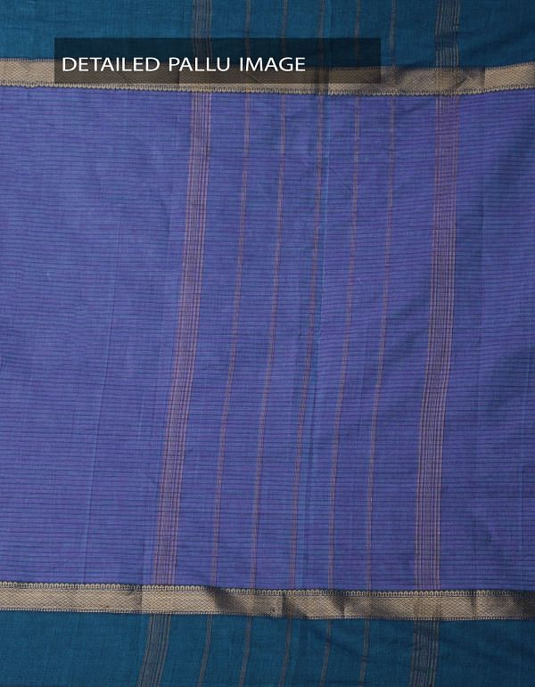 Online Shopping for Violet Pure Handloom Chettinad Gamcha Cotton Saree with Weaving from Tamilnadu at Unnatisilks.comIndia