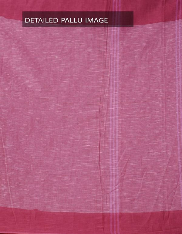 Online Shopping for Pink Pure Handloom Andhra Khadi Cotton Saree With Tassels with Weaving from Andhra Pradesh at Unnatisilks.comIndia