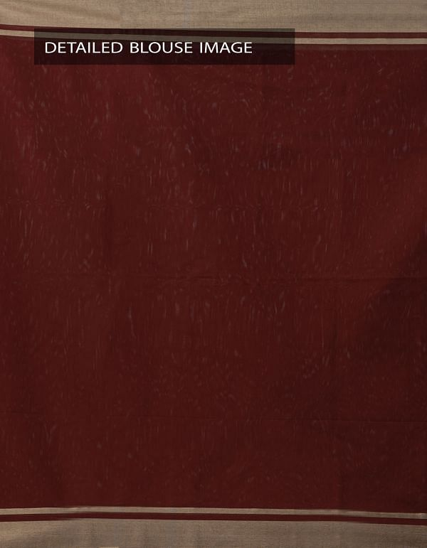 Maroon Kanchi  Sico Saree With Tassels -UNMP33085