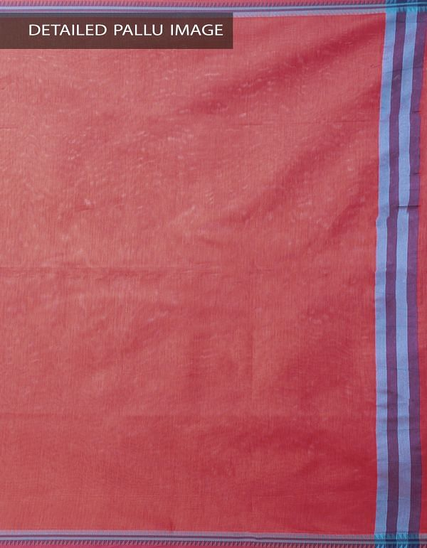 Red Kanchi  Sico Saree With Tassels -UNMP33117