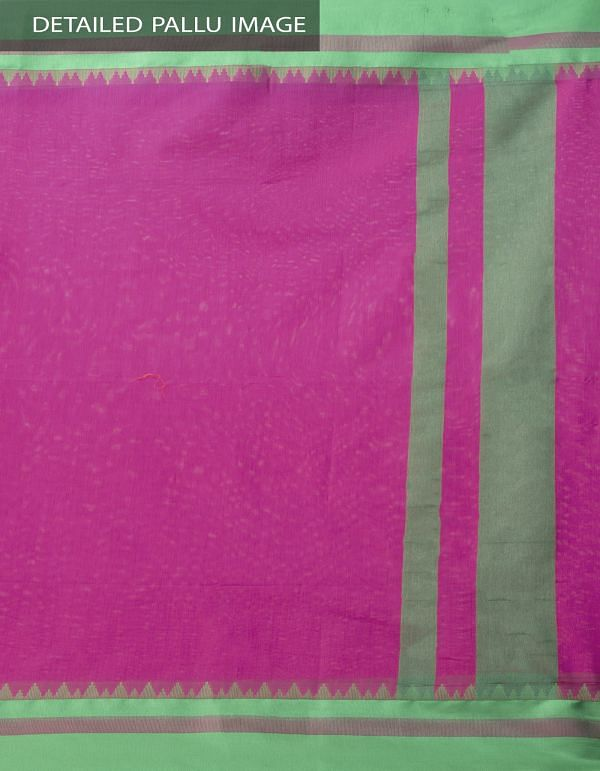 Pink Kanchi  Sico Saree With Tassels -UNMP33127