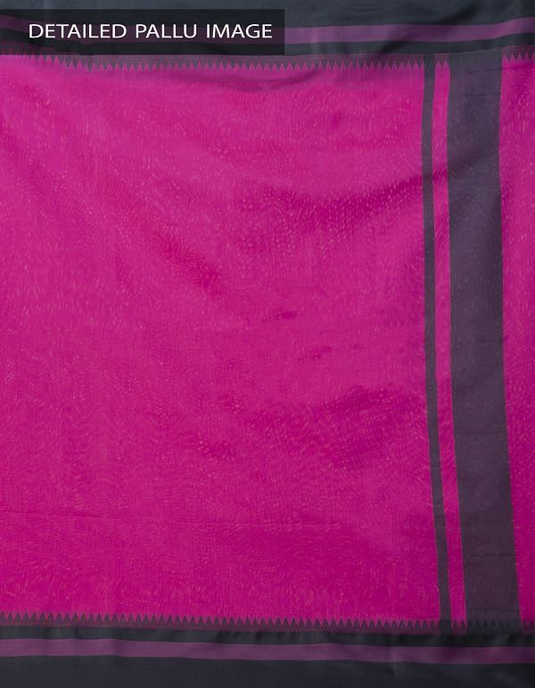 Online Shopping for Pink Kanchi Sico Saree With Tassels with Weaving from Tamilnadu at Unnatisilks.comIndia