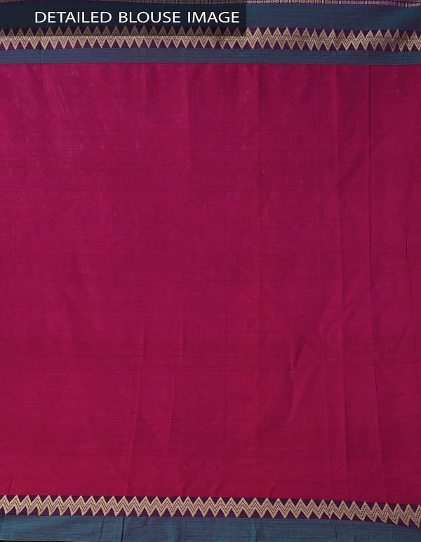 Online Shopping for Pink Pure Handloom Narayanpet Cotton Saree with Tassels with Weaving from Andhra Pradesh at Unnatisilks.comIndia
