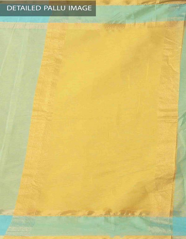 Online Shopping for Green Pure Mangalagiri Cotton Saree with Tassels with Weaving from Andhra Pradesh at Unnatisilks.comIndia