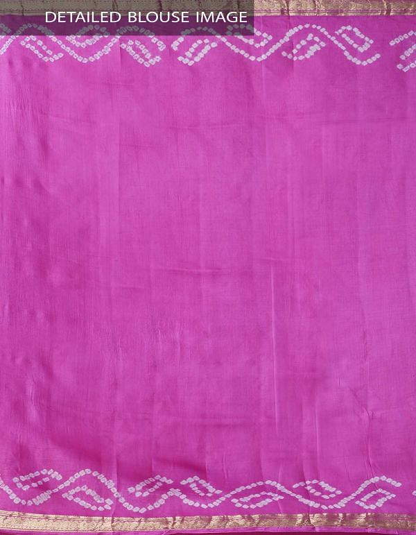 Online Shopping for Blue Pure Bandhani Silk Saree with Tie and Dye Bandhani from Rajasthan at Unnatisilks.comIndia