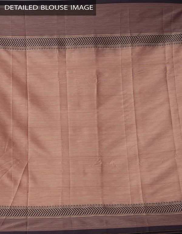 Online Shopping for Brown Pure Handloom Narayanpet Silk Cotton Saree with Tassels with Weaving from Andhra Pradesh at Unnatisilks.comIndia