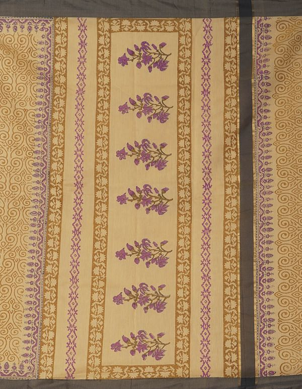 Online Shopping for Brown Pure Chanderi Sico Saree with Weaving from Madhya Pradesh at Unnatisilks.comIndia