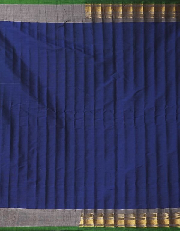 Online Shopping for Blue Pure Gadwal Sico Saree  with Weaving from Telangana at Unnatisilks.comIndia