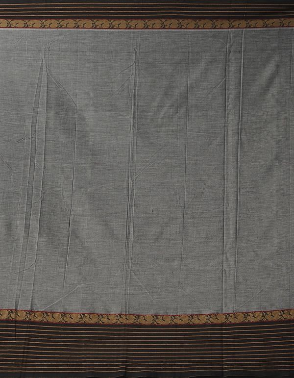 Online Shopping for Grey Pure Handloom Narayanpet Cotton Saree with Batik Prints from Rajasthan at Unnatisilks.comIndia