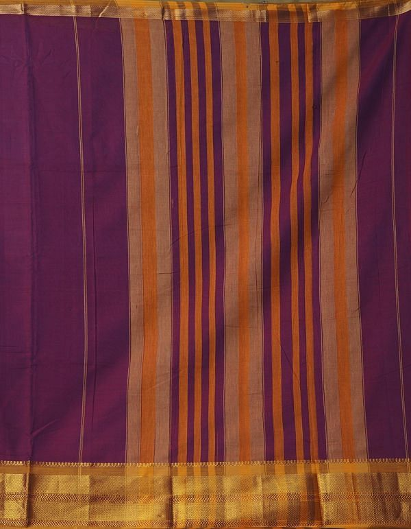 Online Shopping for Purple Pure Handloom Narayanpet Cotton Saree with Batik Prints from Rajasthan at Unnatisilks.comIndia