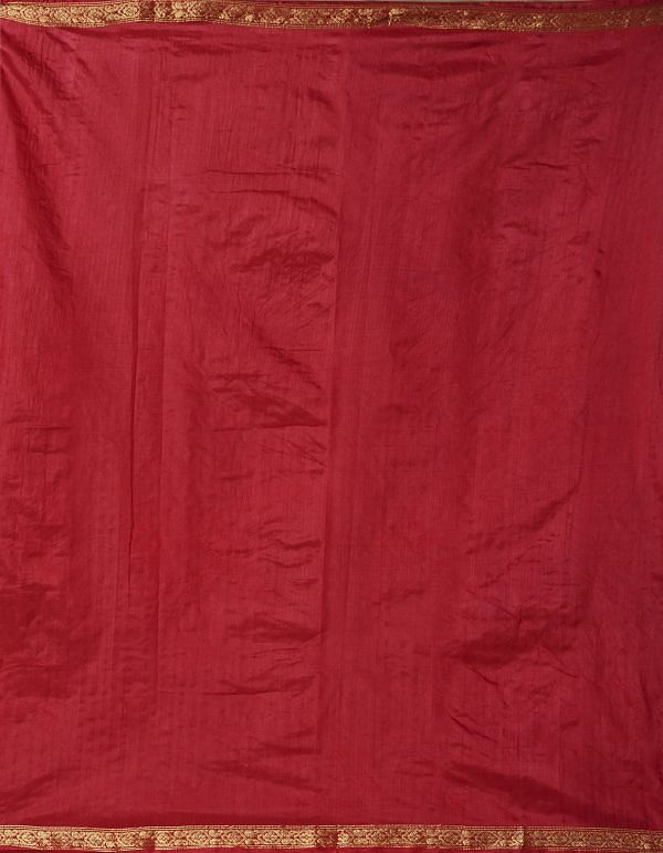 Red Pure Bandhani Soft Silk Saree