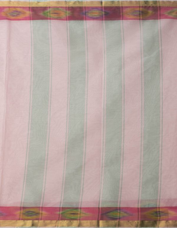 Online Shopping for Pink Pure Handloom Ikat Sambalpuri Cotton Saree with Ikat Weaving from Andhra Pradesh at Unnatisilks.comIndia