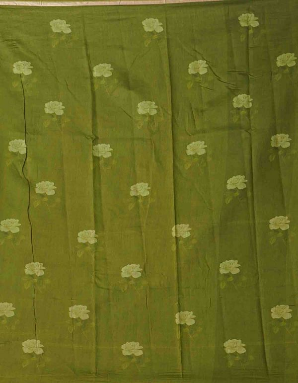 Online Shopping for Red Pure Floral Chanderi Sico Saree with Fancy/Ethnic Prints from Madhya Pradesh at Unnatisilks.comIndia
