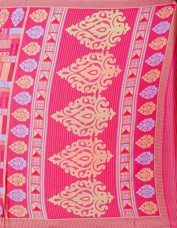 Online Shopping for Red  Digital Printed Crepe Silk Saree with Fancy/Ethnic Prints from Punjab at Unnatisilks.comIndia