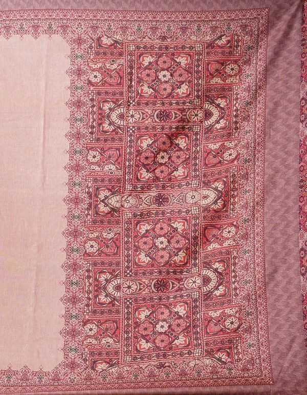 Online Shopping for Peach  Digital Printed Crepe Silk Saree with Fancy/Ethnic Prints from Punjab at Unnatisilks.comIndia
