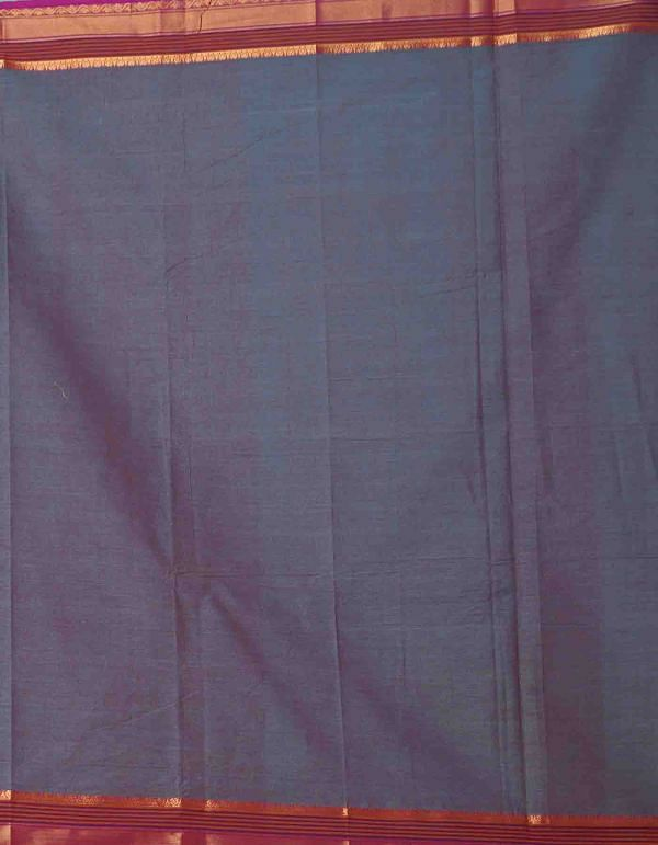 Online Shopping for Grey-Pink Pure Handcrafted Pavni Cotton Saree with Weaving from Tamil Nadu at Unnatisilks.comIndia